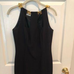 A.J. Bari black cocktail dress